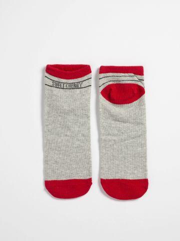 מארז 4 זוגות גרביים בהדפסים שונים / בנות
