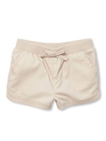 מכנסיים קצרים עם כיסים בצדדים / בייבי בנות
