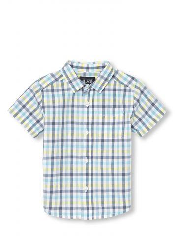 חולצת משבצות מכופתרת / בייבי בנים
