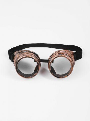 משקפיים סטימפאנק Steampunk / תחפושות לפורים