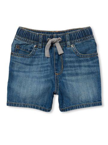 ג'ינס קצר עם שרוכי קשירה / בייבי בנים
