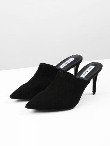 נעלי עקב מיולז זמש