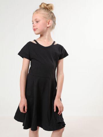 שמלת קולד שולדרס חלקה