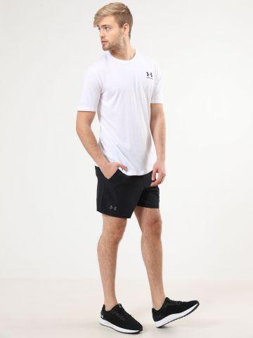 מכנסי ספורט קצרים לוגו