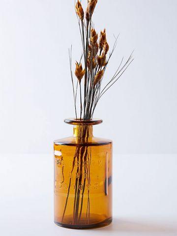 צנצנת רוקחים דקורטיבית מזכוכית
