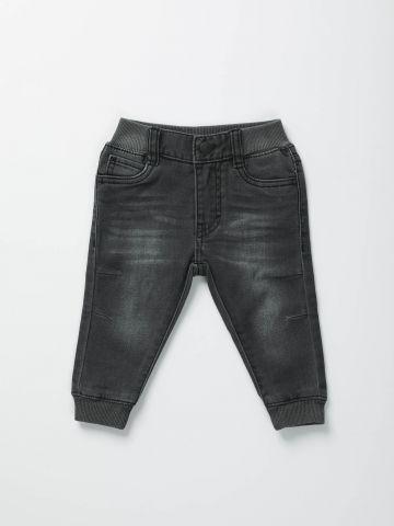 ג'ינס ווש עם גומי / בייבי בנים