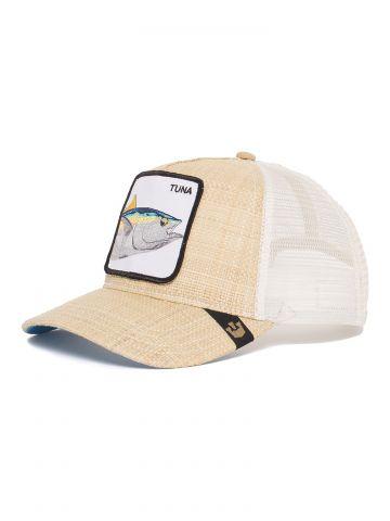 כובע מצחיה עם פאץ' דג Tuna