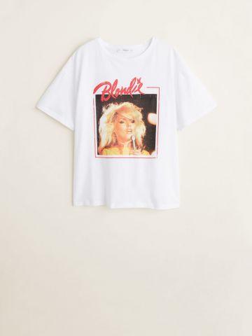 טי שירט עם הדפס Blondie / נשים