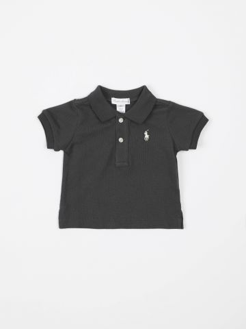 חולצת פולו עם רקמת לוגו / בייבי בנים
