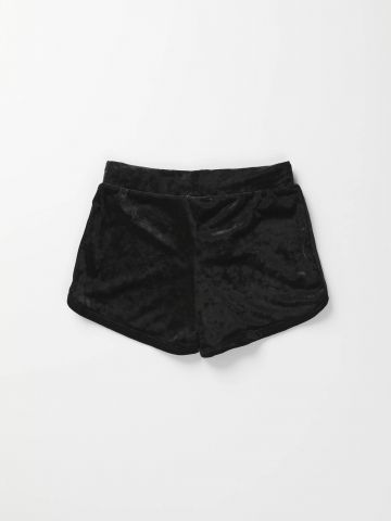 מכנסיים קצרים מקטיפה / בנות
