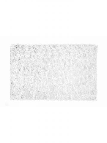 שטיח אמבט לבן נצנצים