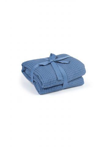 שמיכה בטקסטורת ופל