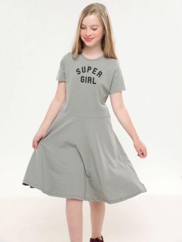 שמלת טי שירט Super girl