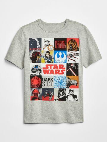 טי שירט קולאז' Star Wars / בנים
