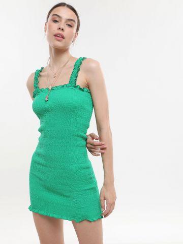 שמלת מיני כיווצים