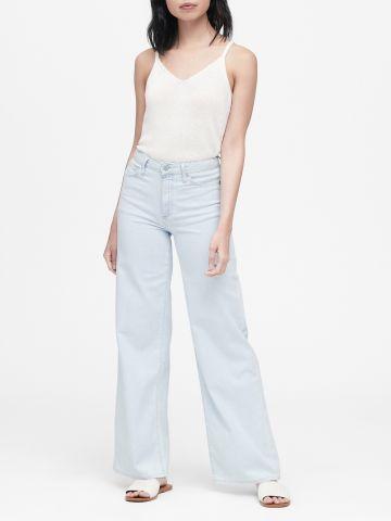 ג'ינס בגזרת גבוהה מתרחבת