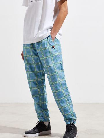 מכנסי ניילון בהדפס משבצות Fila X UO
