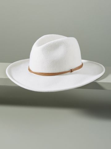 כובע צמר בסגנון בוקרים
