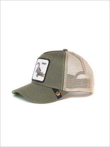 כובע מצחיה עם פאץ' תנין Snap